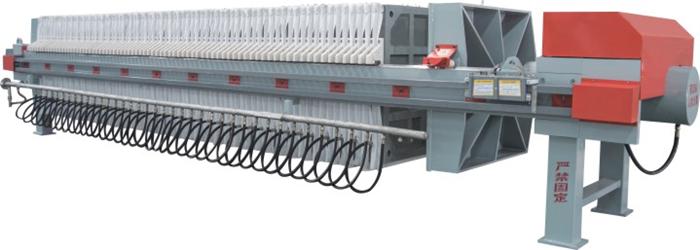 1000-UBK厢式隔膜型压滤机