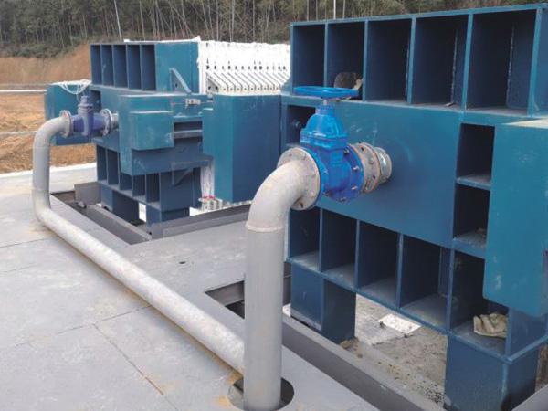 生活污水压滤机处理